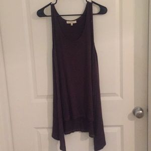 Urban Outfitters Brown tunic like tank top